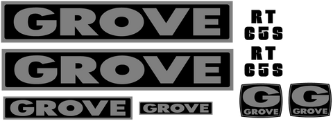 Grove RT65S Decal Set