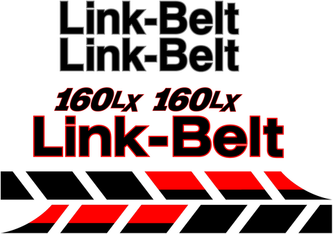 Linkbelt 160 LX Decal Set