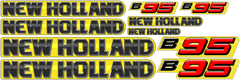 New Holland B95 Decal Set