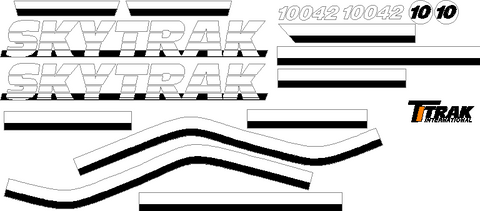 SkyTrak Decals