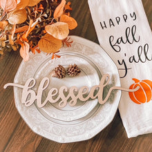 Load image into Gallery viewer, Fall Themed Plate Toppers