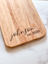 Load image into Gallery viewer, Custom Engraved Charcuterie Board
