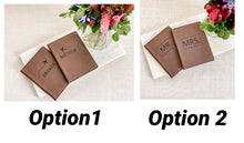Load image into Gallery viewer, Personalized Leatherette Passport Set