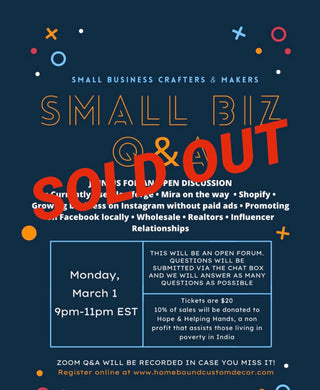 March 15th Small Business Q&A Session