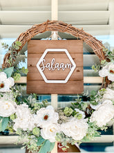 Load image into Gallery viewer, Salaam Welcome Sign