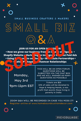 May 3rd Small Business Q&A Session Class