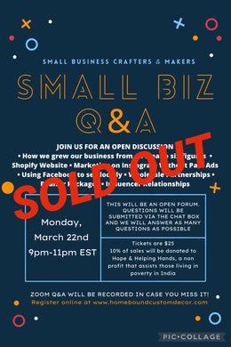 March 22nd Small Business Q&A Session