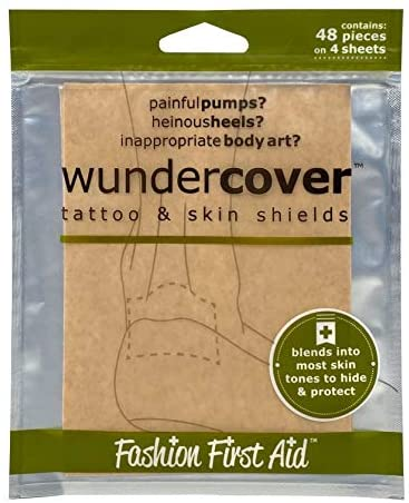 Wundercover 2.0: Tattoo Covers & Blister preventers, 20 Full Sheets
