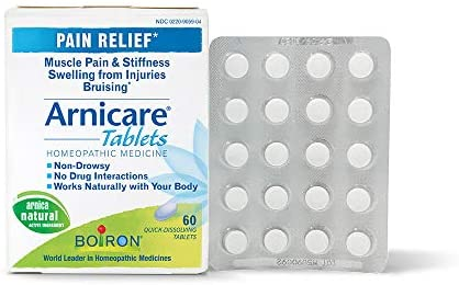 Boiron Arnicare Homeopathic Medicine for Pain Relief (60 Tablets)