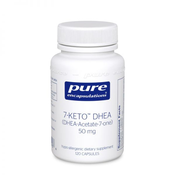 7-KETO DHEA (25 mg) by Pure Encapsulations (#120)