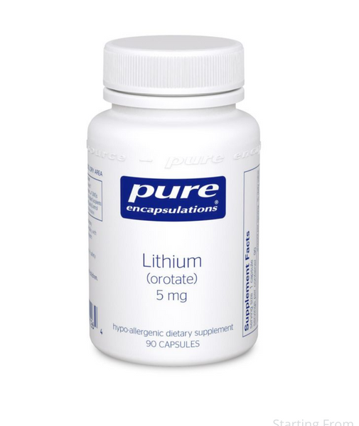 Lithium Orotate 5 mg