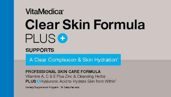 Clear Skin Formula PLUS with Vitamin A, Zinc, and Hyaluronic Acid