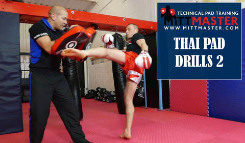 Mittmaster Muay Thai Pad Drills 2 (Video Download)