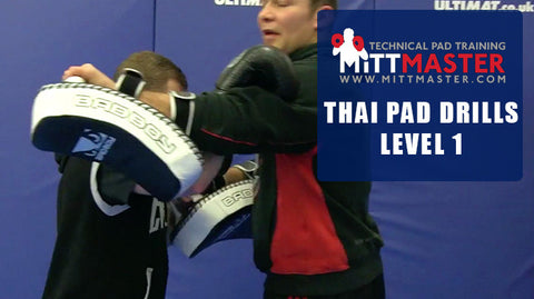 muay thai pad drills pdf