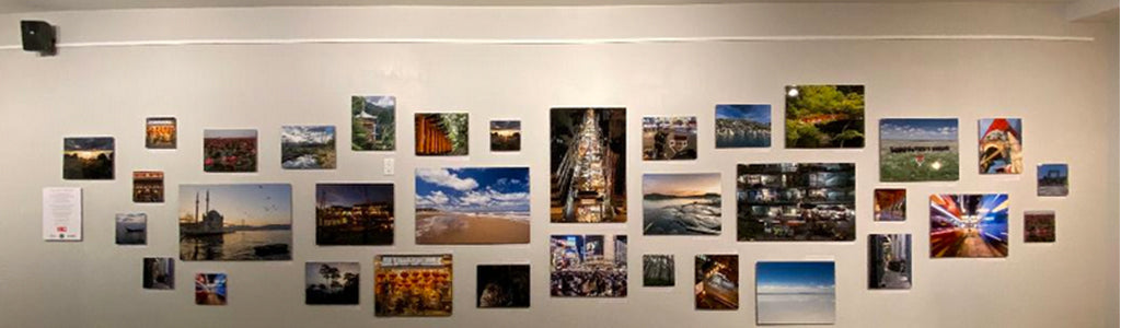 Fujifilm Printlife on display at Origin Cafe Exhibition