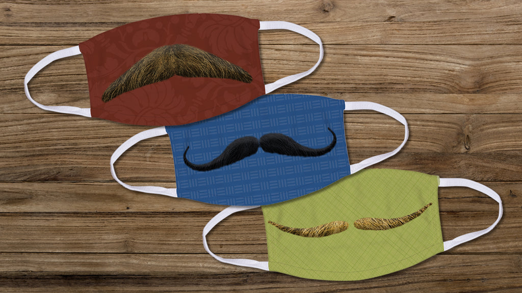 5 Steps to Create Your Own Movember Face Mask!