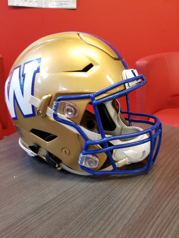 Winnipeg Blue bombers Helmet - Football Canada