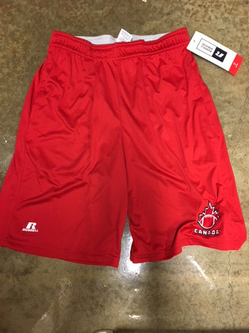 Red FC Shorts - Football Canada