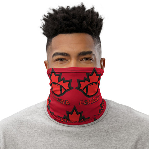 Red Football Canada Neck Gaiter - Football Canada