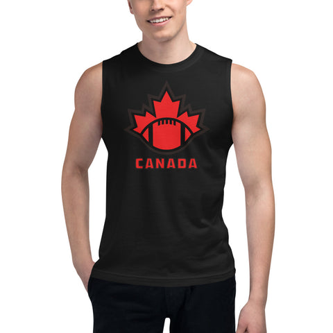 Unisex Football Canada Muscle Shirt - Football Canada