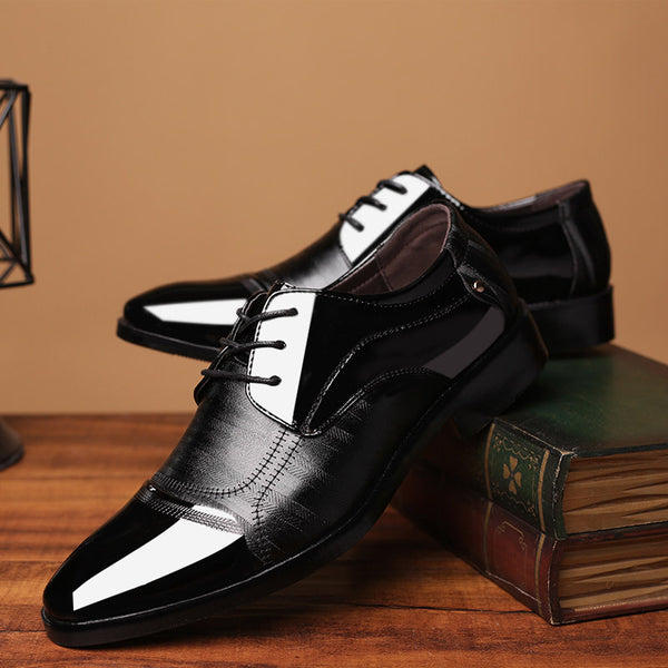 Business Oxford Breathable Leather Shoes