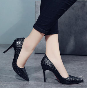 Black Fresh High Heel