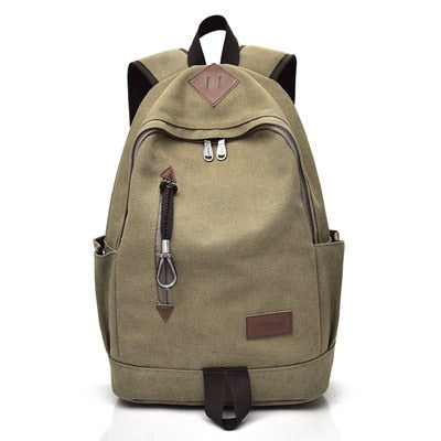 Big Canvas Multifunction Backpack