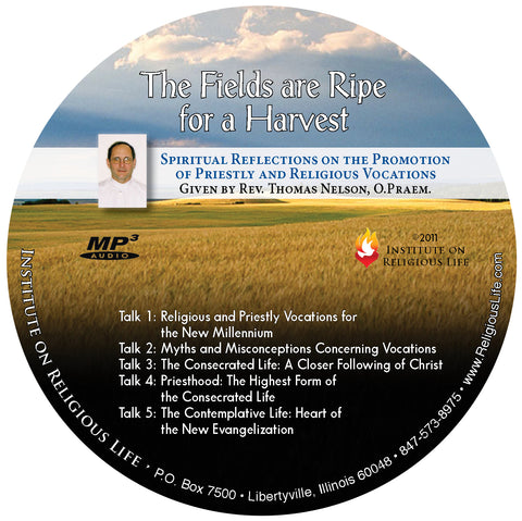 The Fields Are Ripe for the Harvest - MP3 CD