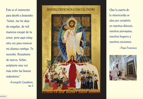 Year of Mercy Triptych - Spanish