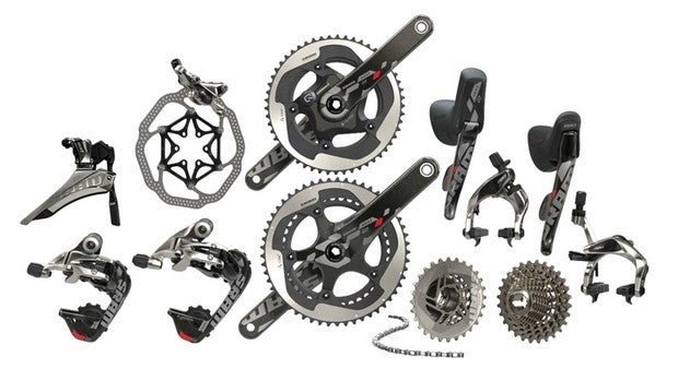 Road bike Groupsets: Understand them better - SRAM / Shimano / Campagnolo and more...