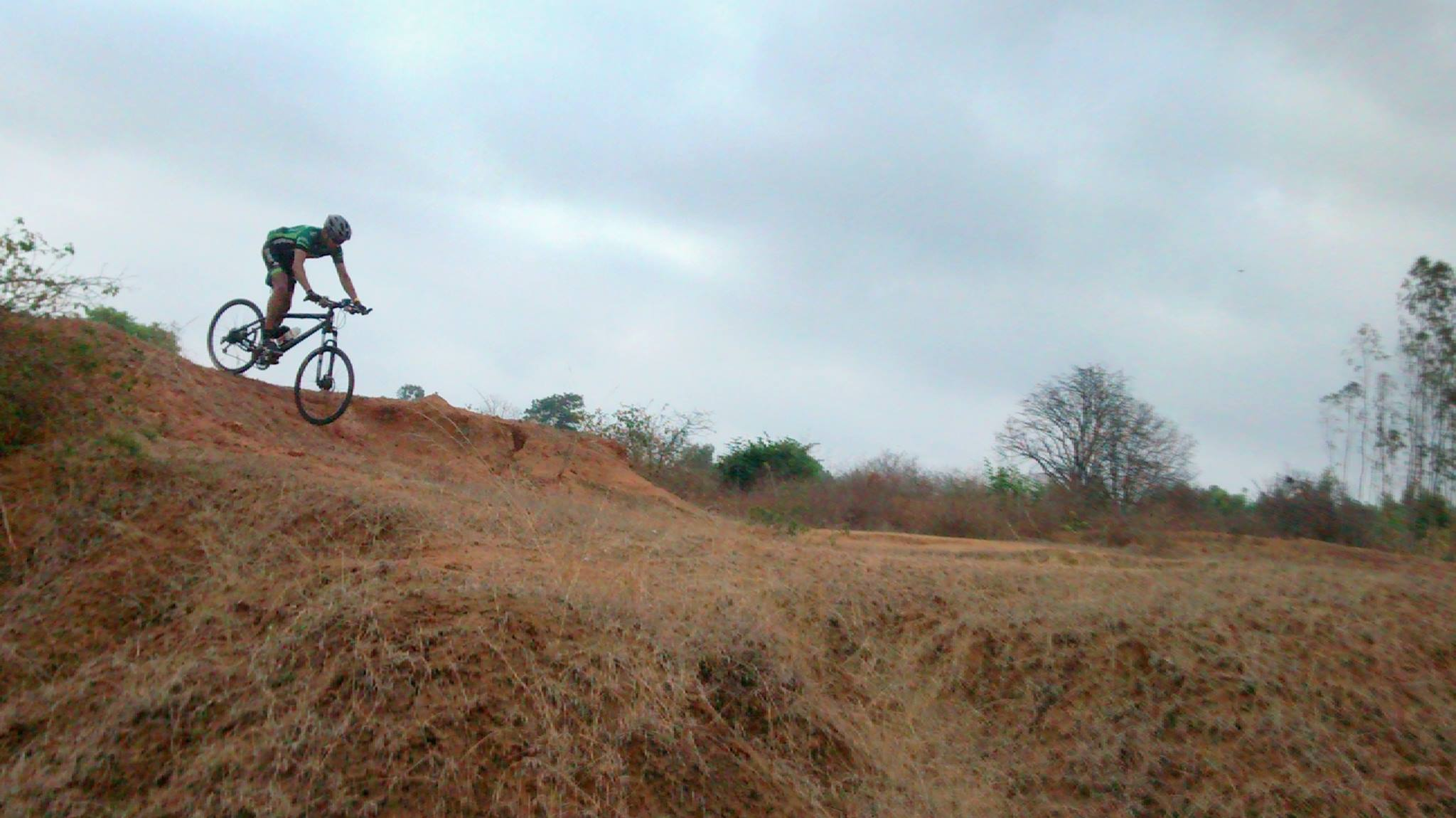 Biju Kunnappada on his gravel and crosscountry cycling / bike ride in India
