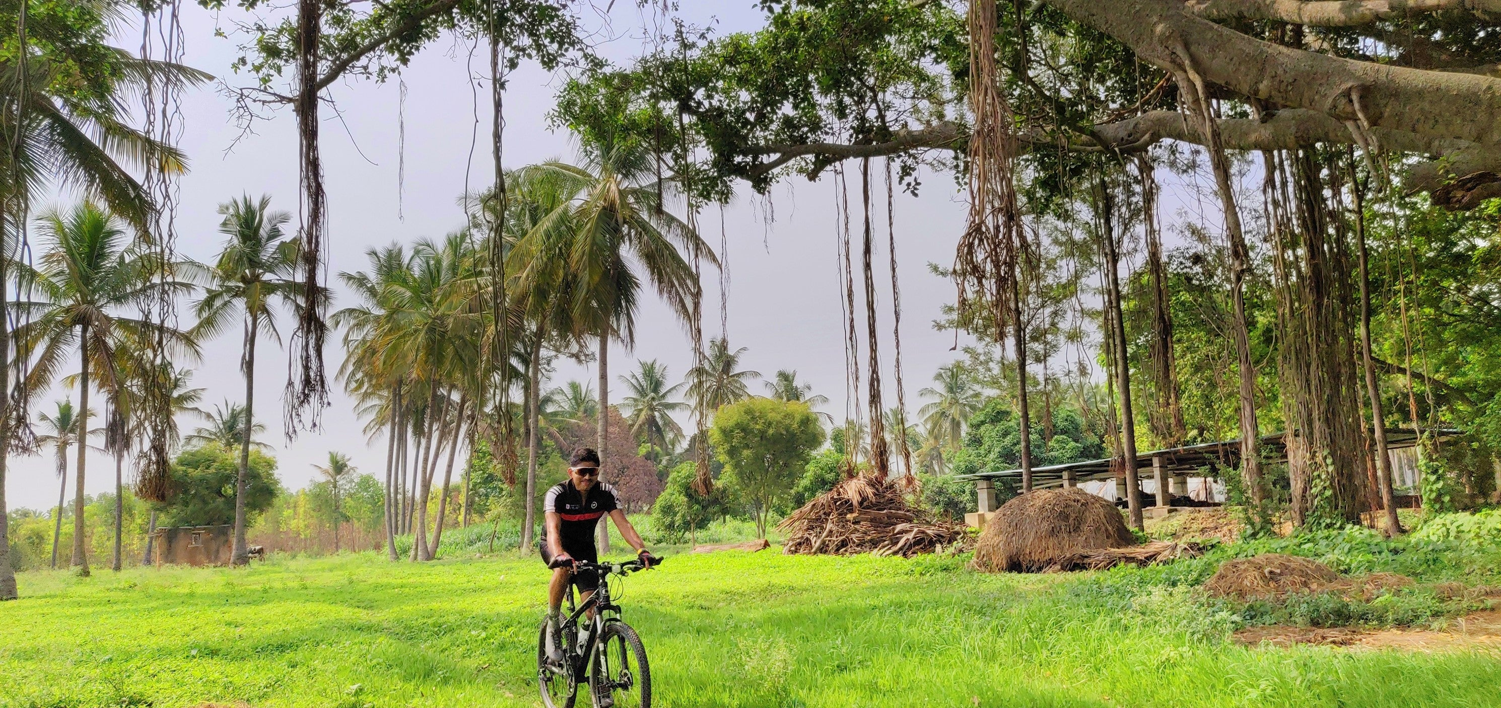 Biju Kunnappada on his cycling group in Bengaluru - Bangalore Roadsters weekend cycling ride to villages around Bengaluru