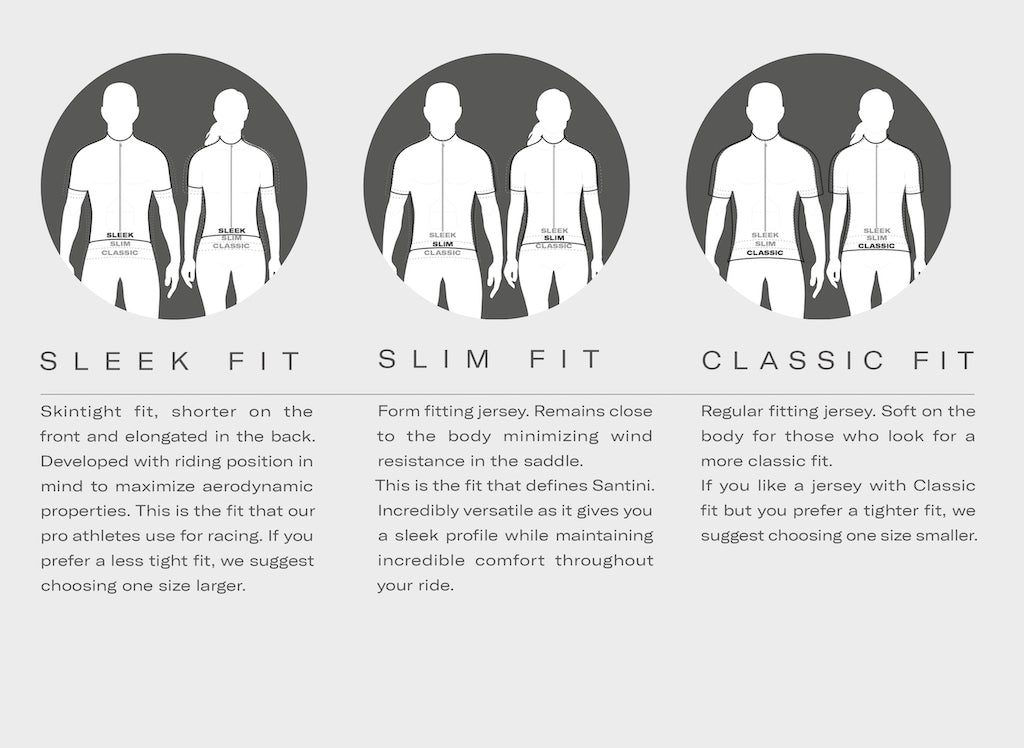 Santini Jersey Fit Guide