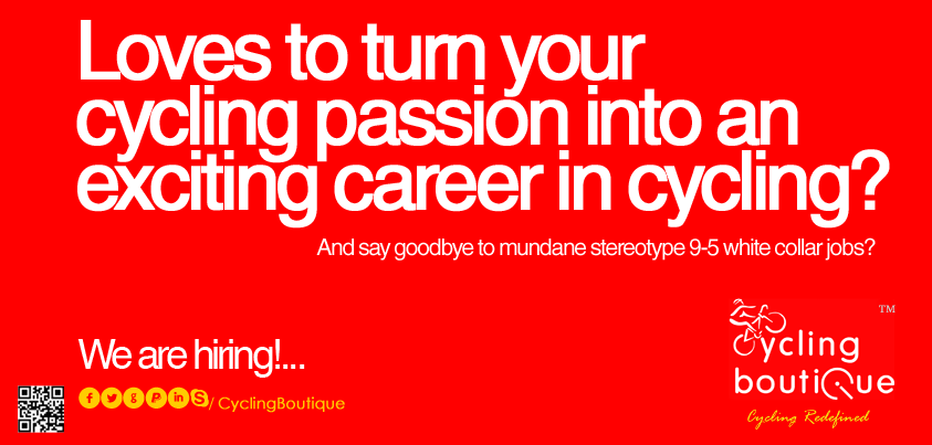 Careers @ Cycling Boutique, Inc.