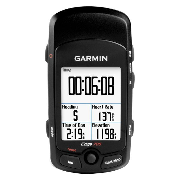 Garmin GPS CycloComputer - Edge 705 - (Device Only Package with India Maps) - *** CLEARANCE / EX Showroom Display / Mint Condition *** - Cycling Boutique