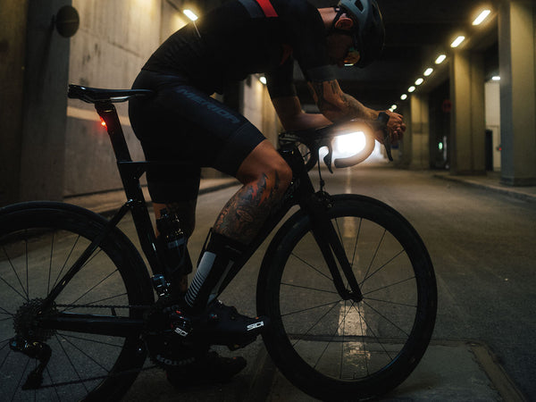Merida Rear Light | Super Bright Aero, Black (USB Rechargeable) - Cycling Boutique