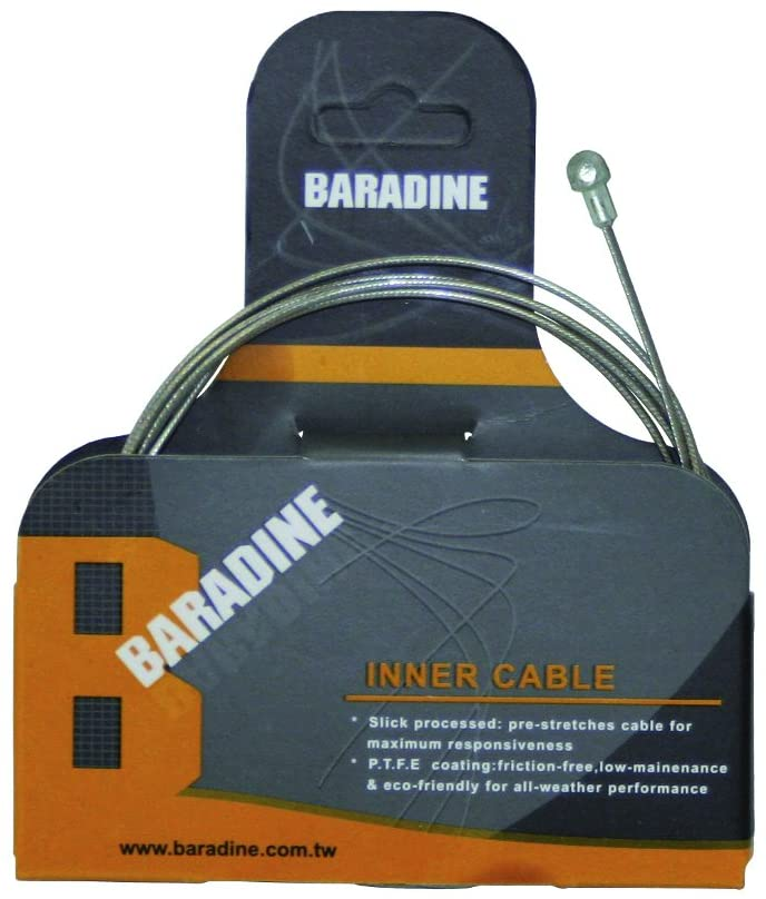 Baradine-Brake Cable-1.7Meter PC Stainless-Steel Slick Treatment-1ACBD3IW000A686-(BI-S-SS-01) - Cycling Boutique