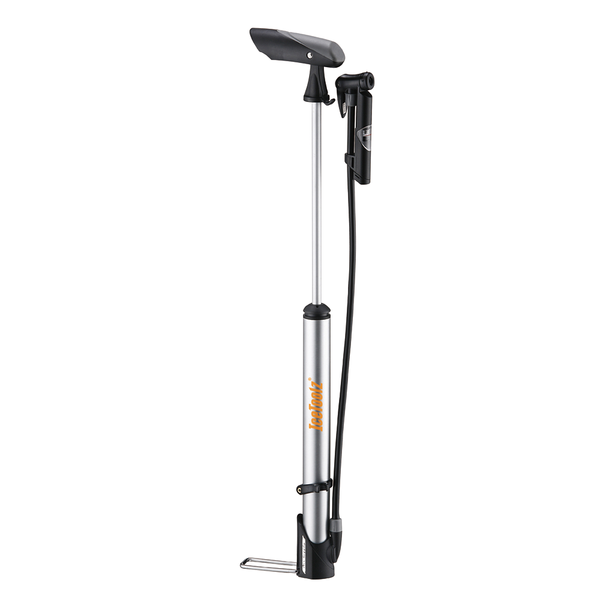 IceToolz Handpump | VeloClub High Pressure Aluminium - Mini Floor Air Pump (A351) - Cycling Boutique