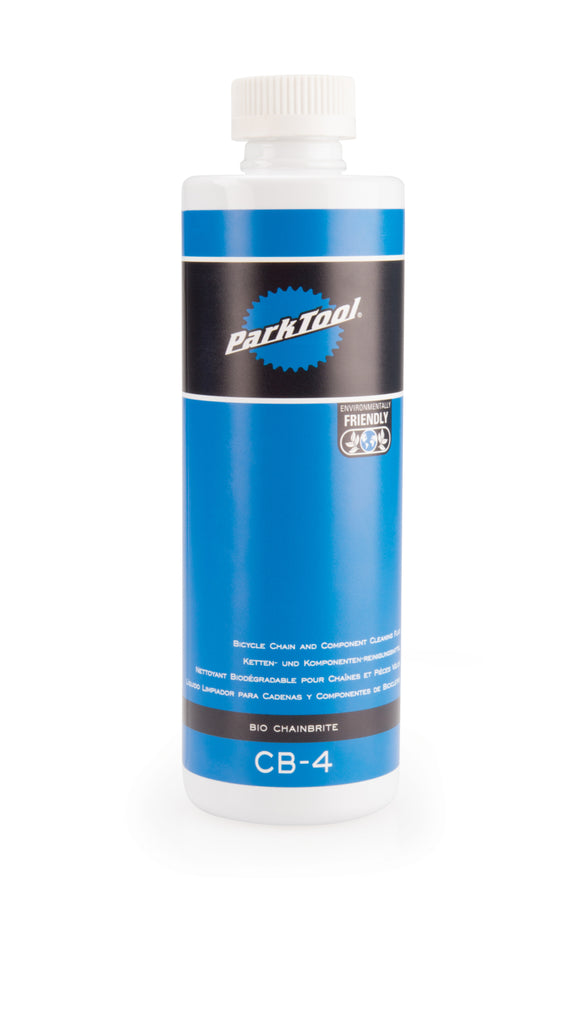 Park Tool Degreaser | Bio ChainBrite Bicycle Chain and Component Cleaning Fluid (100% biodegradable, natural, plant-based) - Cycling Boutique