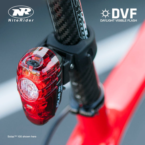 Niterider Rear Light | Solas 250 - Cycling Boutique