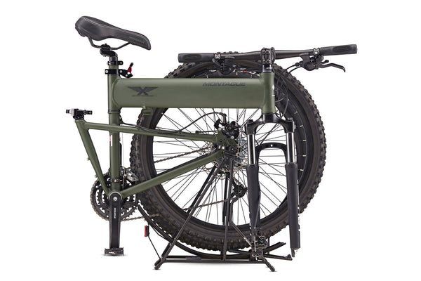 Montague Paratrooper MTB Bike - Cammy Green | The classic full size folding mountain bike - Cycling Boutique