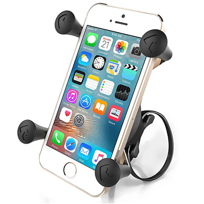 RAM Bicycle Phone Mount | X-Grip with RAM EZ-On/Off Bicycle Base - Cycling Boutique