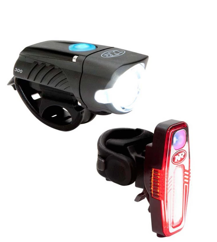 Niterider Combo | Swift 300 & Sabre 100 (Front & Rear Light) - Cycling Boutique