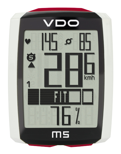 VDO Cyclo Computer | M5 Wireless (with optional heart rate and cadence functions) - Cycling Boutique