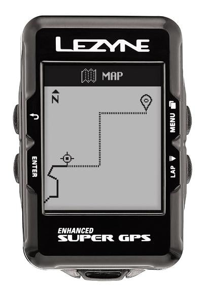 Lezyne CycloComputer - Super GPS - Bluetooth / ANT+ Wireless - Cycling Boutique