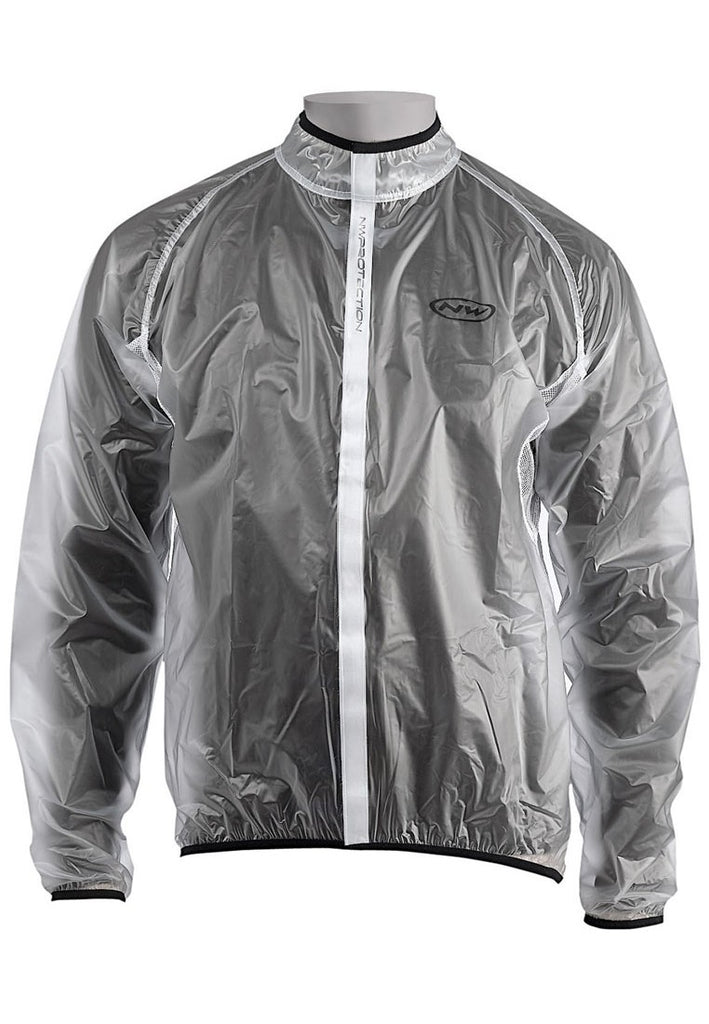 Northwave Rain Jacket | Manty Mantle Transparent, Light Weight, Ventilated - Cycling Boutique