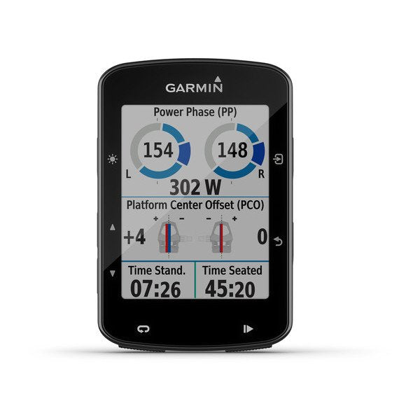Garmin GPS CycloComputer | Edge 520 Plus 2020 - Advanced Bike GPS (Device Only) - Cycling Boutique