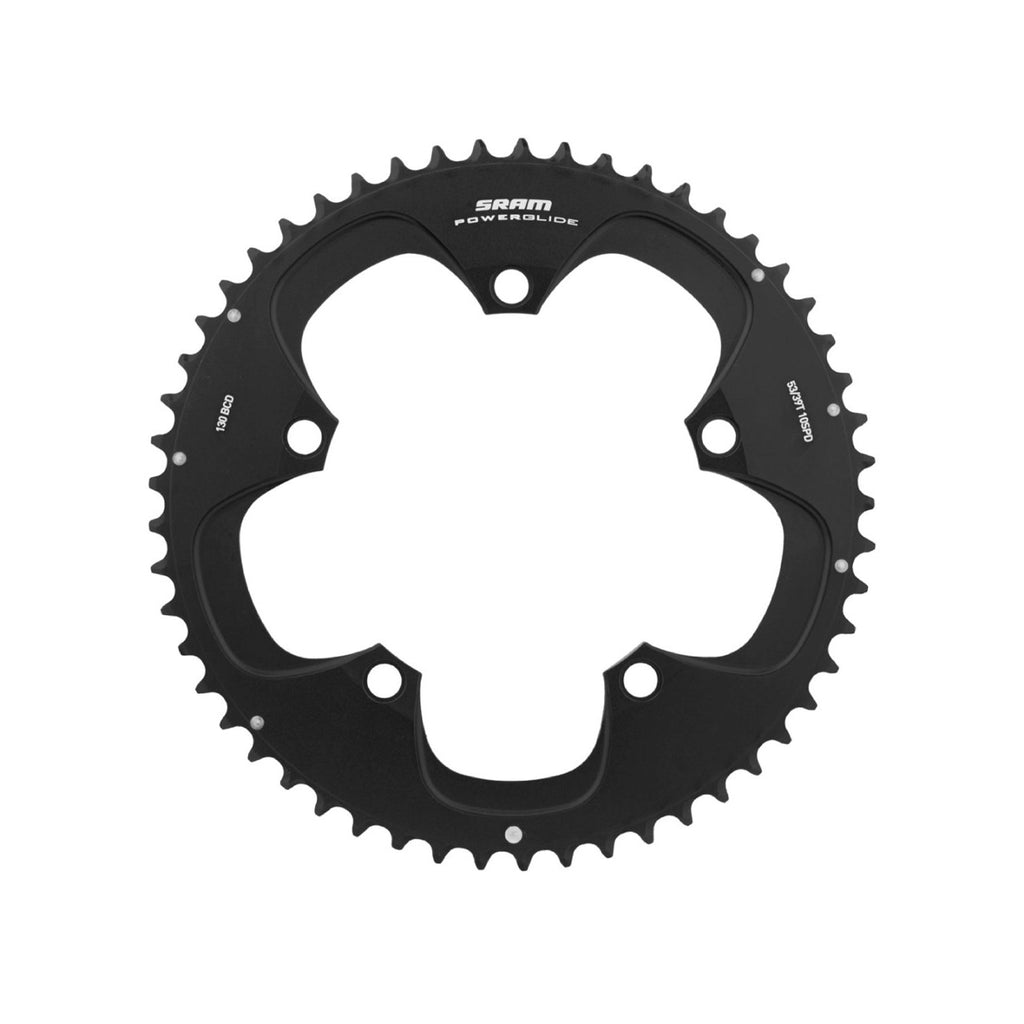 SRAM Road Chain Ring Red 53 Teeth 130 BCD (11.6215.198.000) - Cycling Boutique