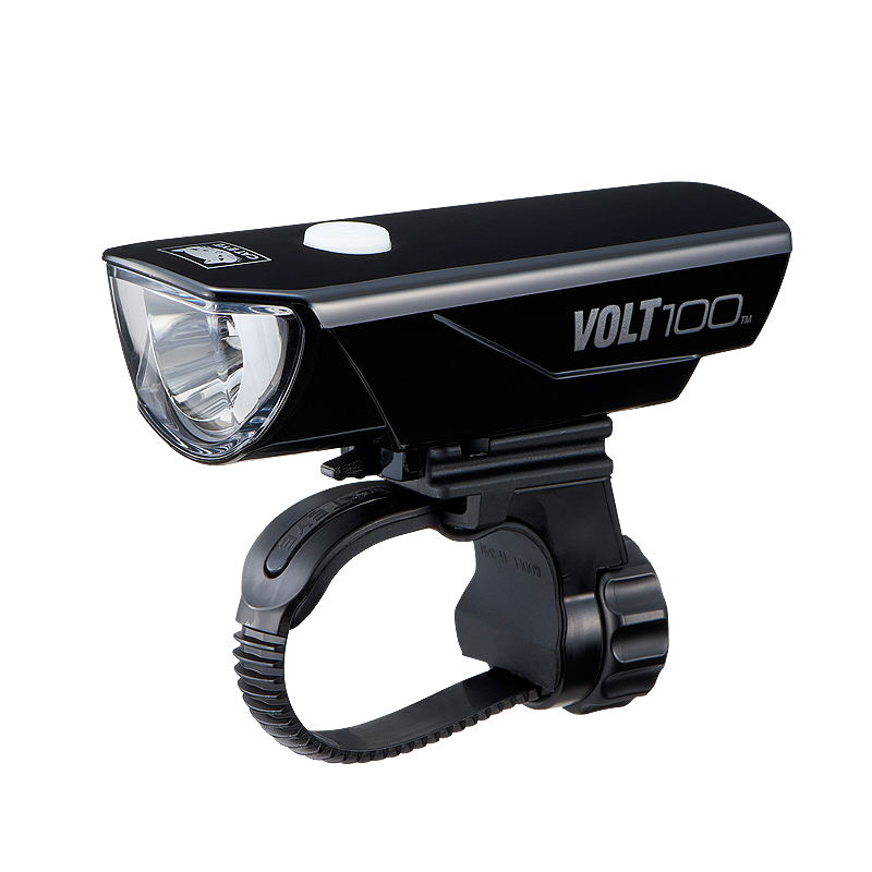 CATEYE FRONT LIGHT VOLT-100 (USB RECHARGEABLE) - HL-EL150RC - Cycling Boutique