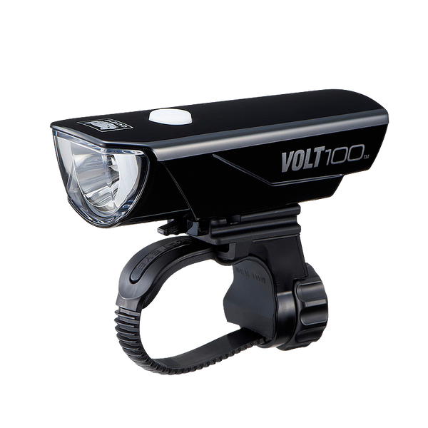 CATEYE COMBO LIGHTS KIT - FRONT LIGHT VOLT-100 (HL-EL150RC) & REAR LIGHT RAPID 3 (TL-LD635) - (USB RECHARGEABLE) - Cycling Boutique